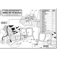 Gmole, Kappa KN23 Gmole Honda Africa Twin 750 (96 02)