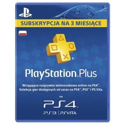 Abonament SONY Playstation Plus 90 dni