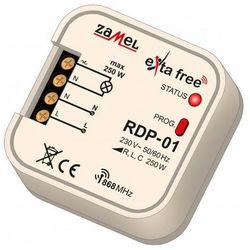 Radiowy ściemniacz podtynkowy Zamel RPD-01 1-kanałowy