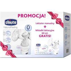 Chicco Laktator Manualny + Wkładki Laktacyjne 60szt 0798900