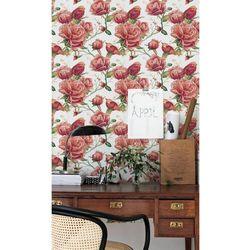 Fototapeta Romantyczny Ogród Czerwonych Kwiatów