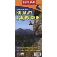 Mapy i atlasy turystyczne, Mapa turystyczna - Rudawy Janowickie 1:25 000 - Praca zbiorowa (opr. broszurowa)