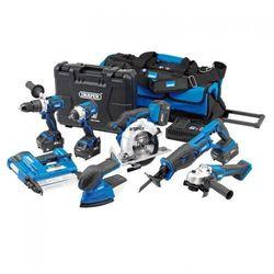 Zestaw narzędzi akumulatorowych D20V (11-częściowy)