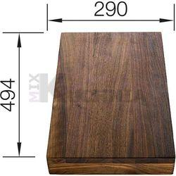 Deska BLANCO z drewna orzechowego 494x290x41mm (225331)