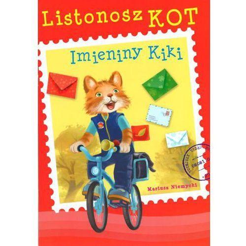 Książki dla dzieci, Listonosz Kot. Imieniny Kiki (opr. miękka)