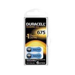 Baterie do aparatów słuchowych DURACELL HA675 P6 6szt.