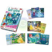 Kreatywne dla dzieci, Bajkowa Akademia Świat cyferek Princess - Trefl OD 24,99zł DARMOWA DOSTAWA KIOSK RUCHU