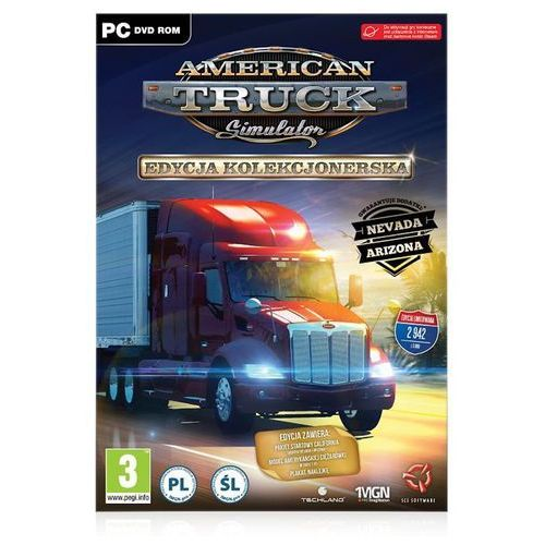 Gry na PC, American Truck Simulator (PC)