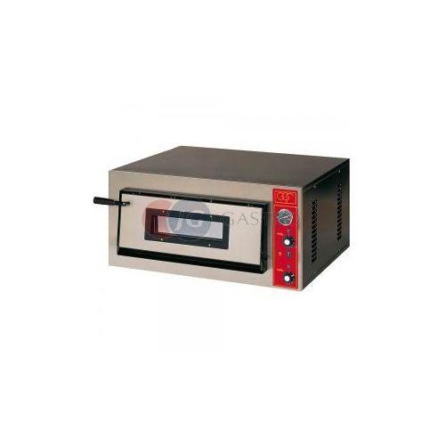 Piece i płyty grzejne gastronomiczne, Piec do pizzy 1-komorowy 4x30cm E-line GGF 781501