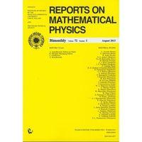 Fizyka, Reports on Mathematical Physics 81/2 wersja krajowa (opr. miękka)