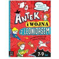 Książki dla dzieci, Antek i wojna z leonidasem. świat według antka i inne nieznośności (opr. miękka)
