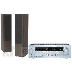 Onkyo TX-8250 (srebrny), Pylon Audio Coral 25 (wenge)