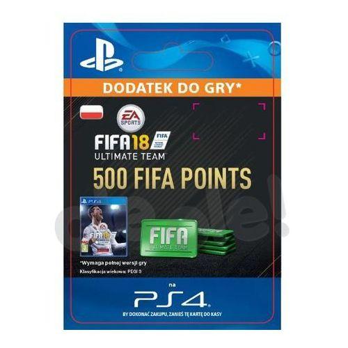 Kody i karty przedpłacone, FIFA 18 500 Punktów [kod aktywacyjny]