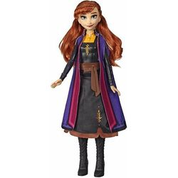 Lalka Kraina Lodu 2 (Frozen 2) Magiczna podświetlana suknia Anna