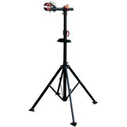Stojak do montażu roweru, Eufab Profi 16414, wysokość 1150 - 1400 mm, metalowy, czarny
