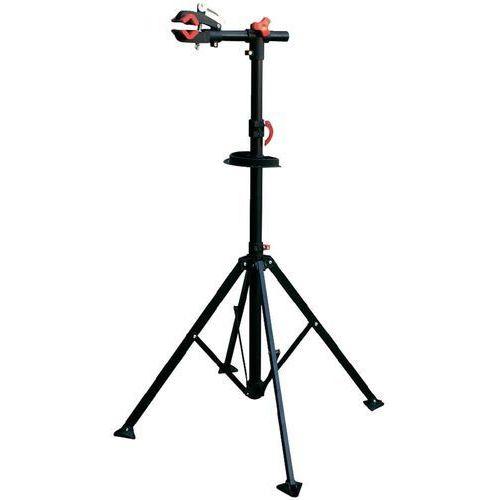 Narzędzia rowerowe i smary, Stojak do montażu roweru, Eufab Profi 16414, wysokość 1150 - 1400 mm, metalowy, czarny