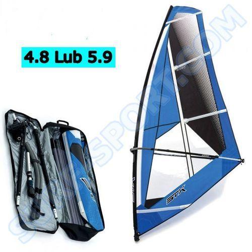 Żagle do windsurfingu, Żagiel do Deski Windsurfingowej Wind SUP STX Evolve 2019 Cały Pędnik