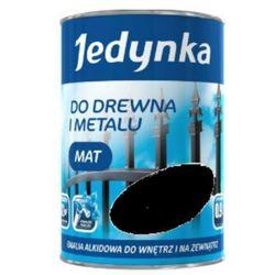 JEDYNKA DO DREWNA I METALU, mat, czarna, 5 l. (Farba alkidowa)
