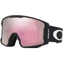 Oakley Line Miner Gogle zimowe Mężczyźni, matte black/w prizm hi pink iridium 2020 Gogle narciarskie