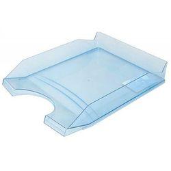 Szufladka na biurko OFFICE PRODUCTS, polistyren/PP, A4, transparentna niebieska