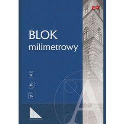 Blok milimetrowy A4 20 kartek [20 szt.]