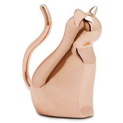 Umbra - stojak na biżuterię anigram kot - miedziany