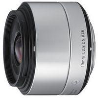 Obiektywy fotograficzne, Obiektyw SIGMA Digital A 19/2.8 DN micro 4/3 (MFT) Srebrny Sprawdź rabat w sklepie ELECTRO.pl + DARMOWY TRANSPORT!