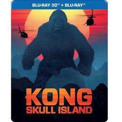Kong: Wyspa Czaszki 3D. Steelbook (2BD)