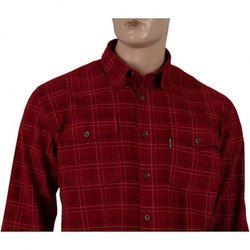 Koszula sztruksowa Dockland w odcieniach czerwieni