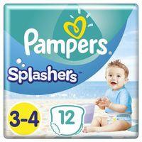Majtki dziecięce, Pampers Splashers, R3-4, 12 jednorazowych pieluch do pływania