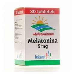 Melatonina LEK-AM tabl. 5 mg 30 tabl. (blistry)