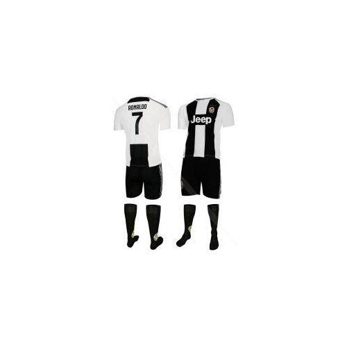 Odzież do sportów drużynowych, RONALDO - JUVENTUS TURYN - komplet piłkarski - koszulka, spodenki + skarpety BS SPORT
