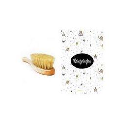 Szczotka z naturalnego w�osia + myjka Lullalove (Ksi�niczka)