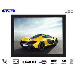 "NVOX OP1200VH Monitor open frame LED 12"" VGA HDMI USB 12V 230V"