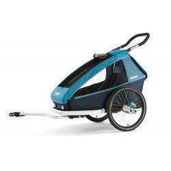 Przyczepka rowerowa / wózek biegowy CROOZER Kid for 2 Next Generation 2019