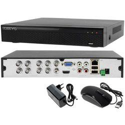 Rejestrator do systemu monitoringu 8 kanałowy hybrydowy KEEYO LV-XVR84N-II