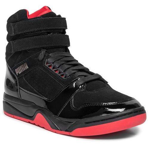 Koszykówka, Buty PUMA - Palace Guard Mid Red Carpet 370073 01 Puma Black/Risk Red/Bronze