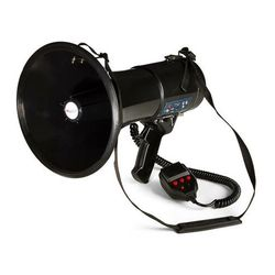 Auna EGA080USB Megafon odtwarzacz MP3 USB funkcja nagrywania 700m czarny