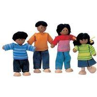 Pozostałe zabawki, Rodzina ciemnoskórych lalek