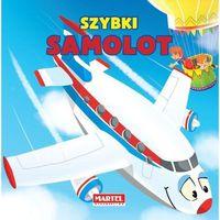 Książki dla dzieci, Pojazdy - Szybki Samolot (opr. kartonowa)