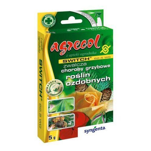Pozostałe rośliny i hodowla, Środek grzybobójczy Agrecol Switch 62,5 WG 5 g