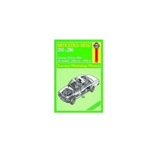 Biblioteka motoryzacji, Mercedes-Benz 250 & 280 123 Series Petrol Owner's