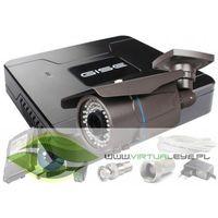 Zestawy monitoringowe, Zestaw pełny: Rejestrator GS-M1004NH-V2 + Kamera GS-CM4-VF-V 720p + Dysk 500 GB