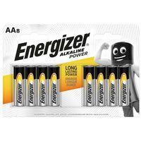 Baterie, 8 x bateria alkaliczna Energizer Alkaline Power LR6/AA (blister)