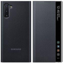 Etui na smartfon SAMSUNG Clear View Cover do Galaxy Note 10 Czarny EF-ZN970CBEGWW