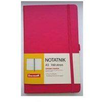 Notesy, Notes A5/80 kratka Roma różowy