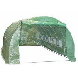 Tunel szklarniowy ogrodowy 600 x 300 cm 18 m2 foliowy LUSTAN