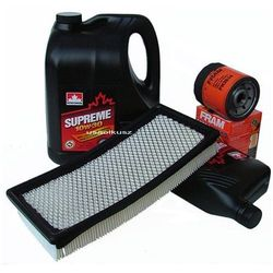 Filtr oleju powietrza oraz olej silnikowy SUPREME 10W30 Dodge Neon