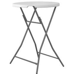 Stolik barowy składany | okrągły | śr.800x(H)1100mm