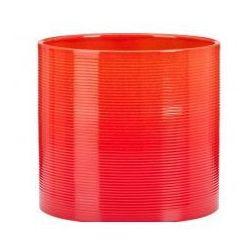 Osłonka Scheurich 828 Tequila Sunrise czerwony + pomarańczowy 14